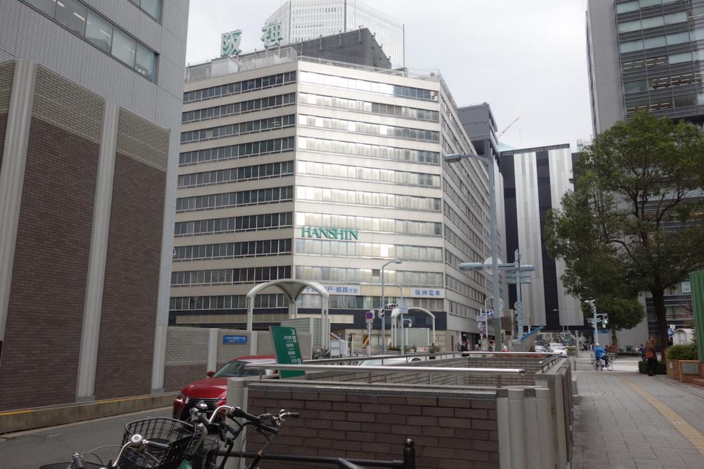 大阪駅周辺の阪神ビル