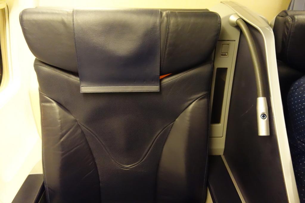 ANA737便のプレミアムクラスシート(平成30年1月23日)