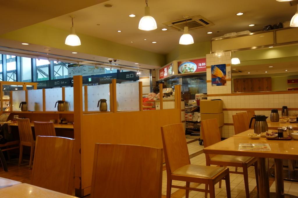 大阪国際空港の551蓬莱(店内)