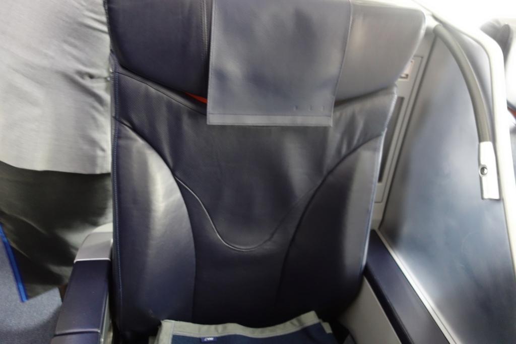 ANA765便のプレミアムクラスシート(平成30年2月21日)