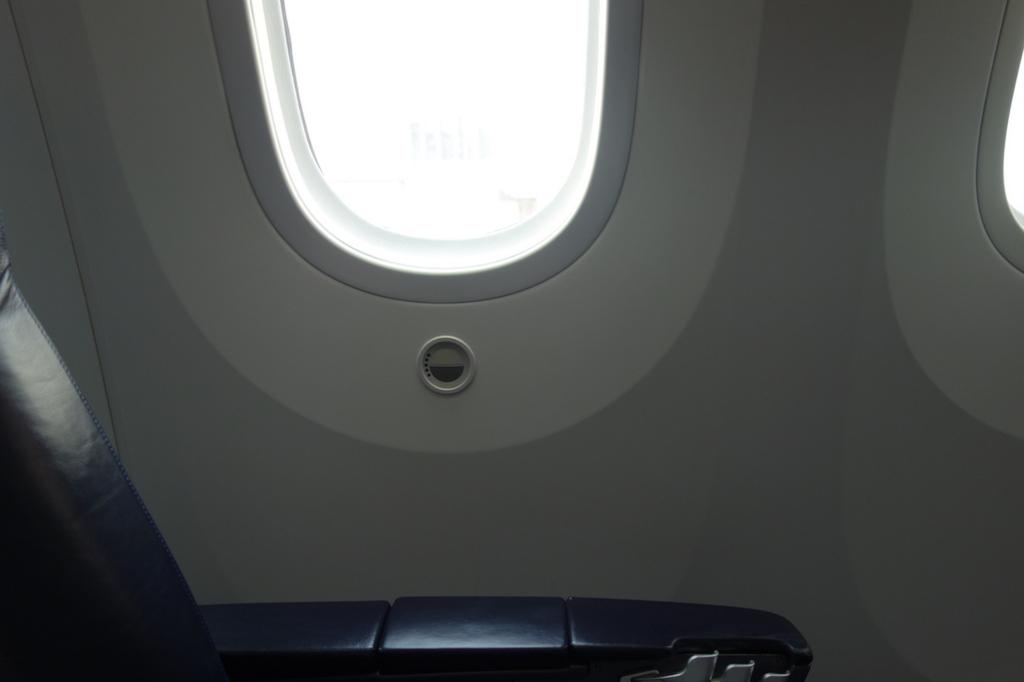 ANA765便の電子シェード(平成30年2月21日)