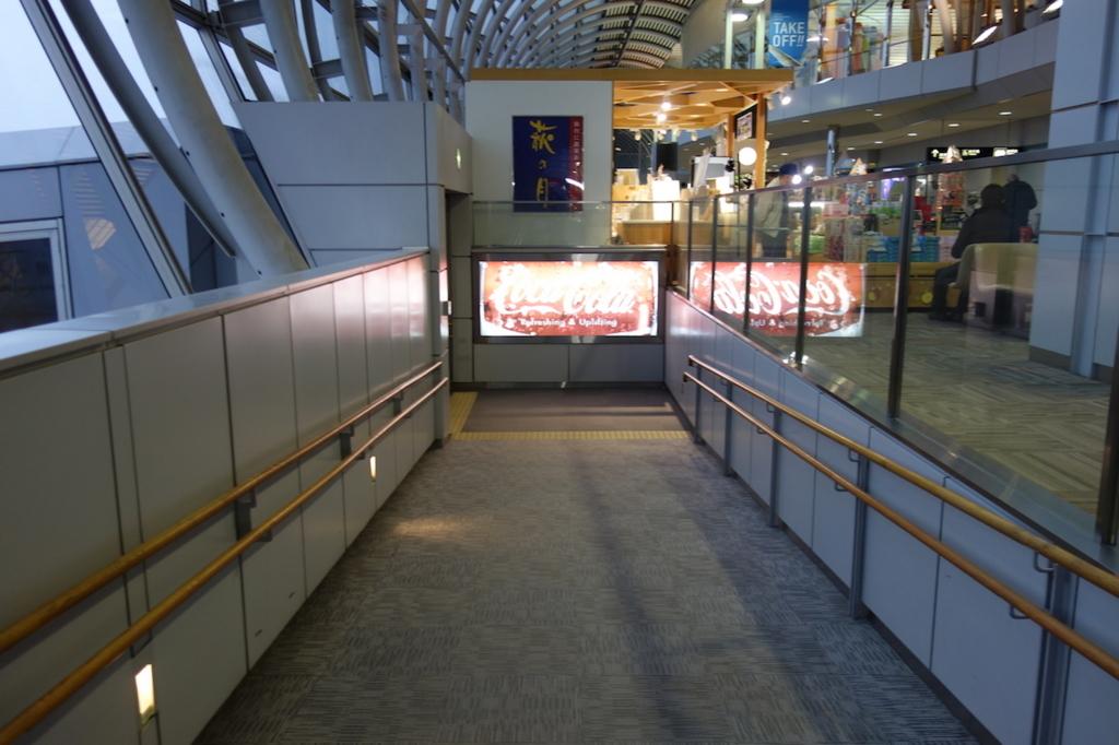 仙台国際空港の5番搭乗口通過後(平成30年3月1日)