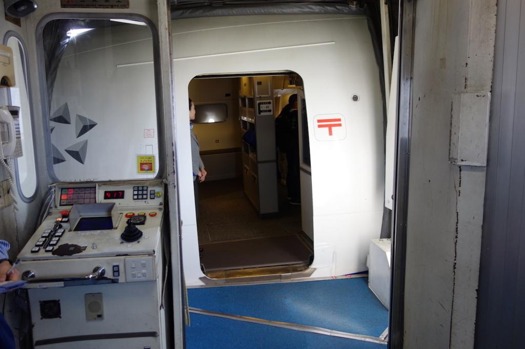 ANA1864便へ搭乗(平成30年3月1日)