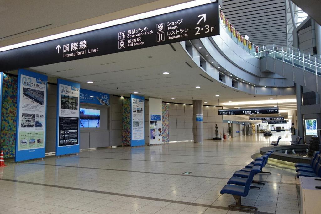仙台国際空港のターミナルビル1階(平成30年3月27日)