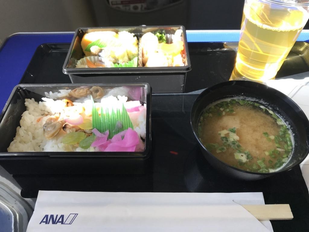 ANA732便のPremium GOZEN(平成30年3月27日)