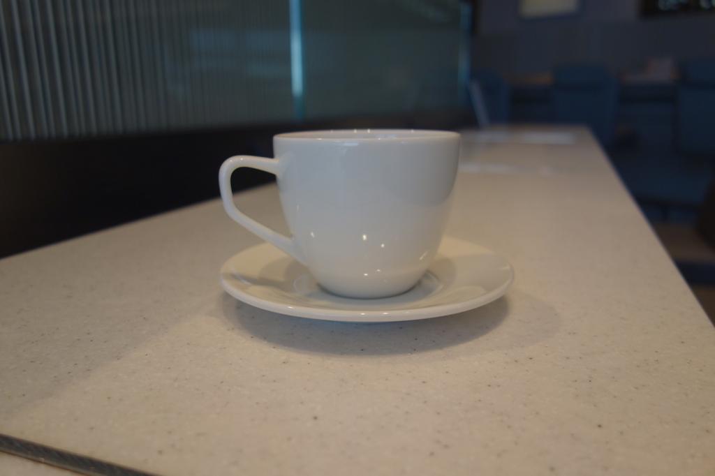 大阪国際空港のANAラウンジで飲んだコーヒー(平成30年3月27日)