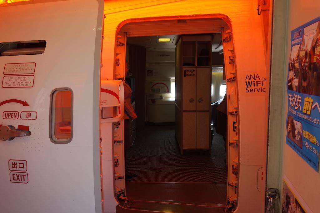 ANA765便へ搭乗(平成30年3月27日)