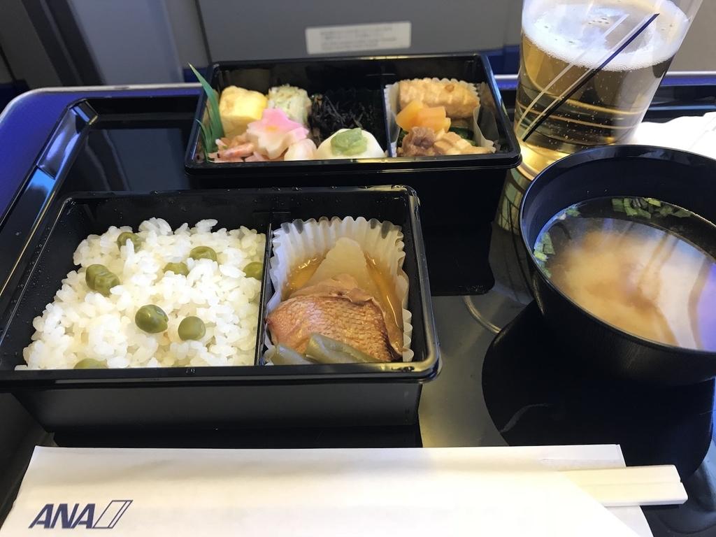 ANA765便のPremium GOZEN(平成30年3月27日)