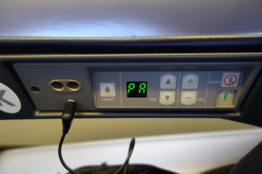 ANA765便プレミアムクラスのコントローラー(平成30年3月27日)