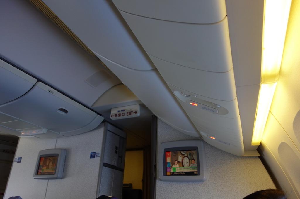 ANA765便のプレミアムクラス(平成30年3月27日)