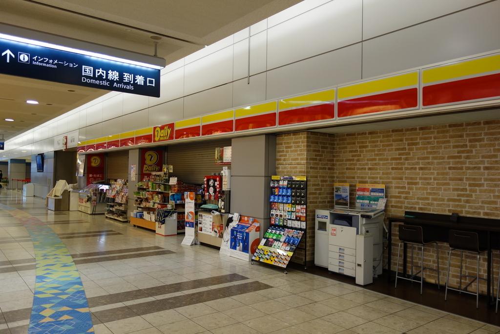 仙台国際空港のターミナルビル1階(平成30年4月25日)