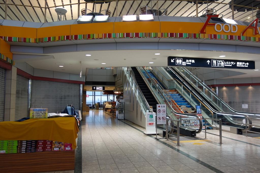 仙台国際空港ターミナルビル2階のフードアベニュー(平成30年4月25日)