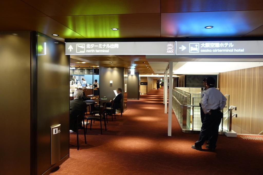 大阪国際空港中央ブロック3Fのディーン&デルーカカフェ(平成30年4月25日)