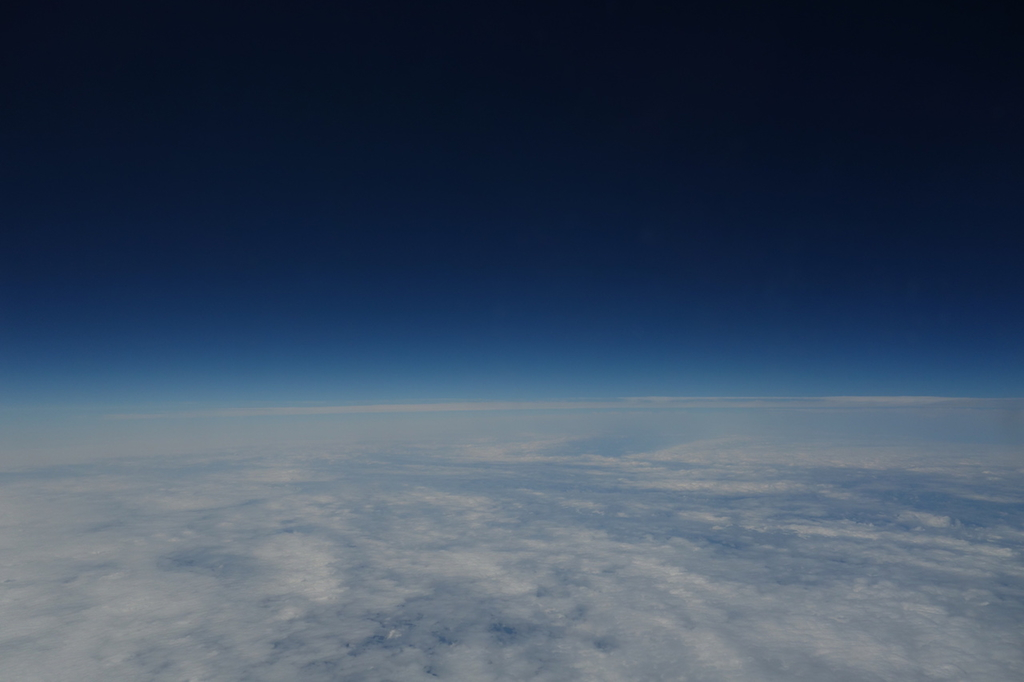 ANA1864便から見た幻想的な雲海(平成30年4月25日)