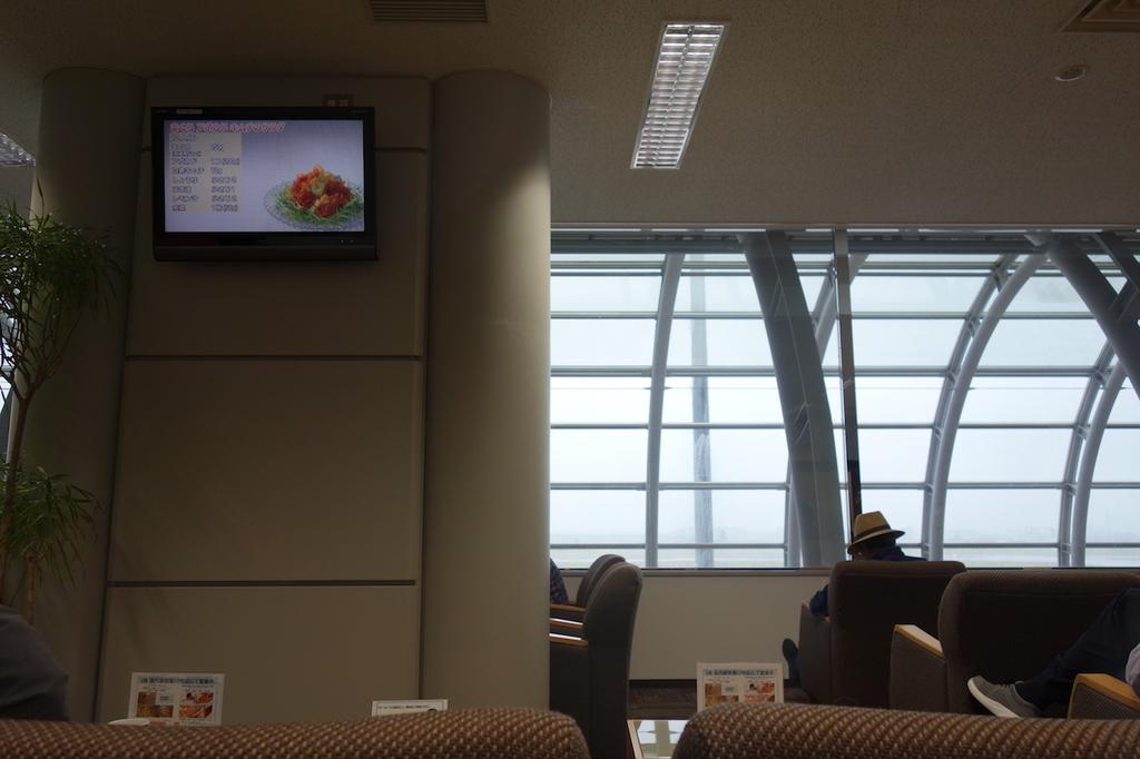 仙台国際空港のBusiness Lounge East side ラウンジ内1(平成30年6月11日)