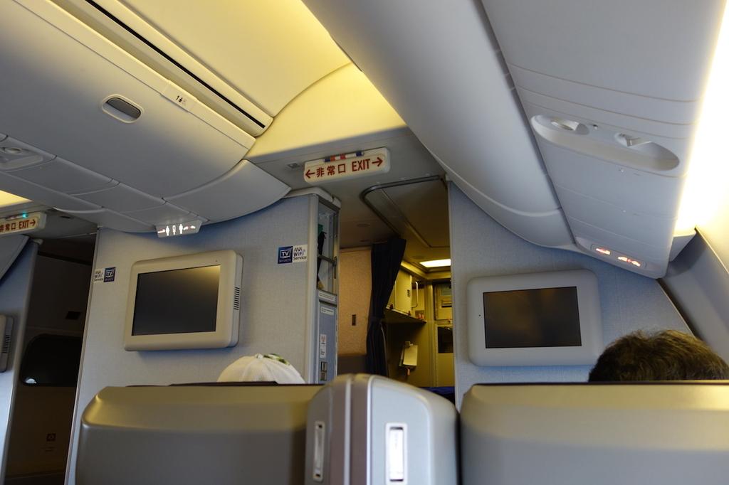 ANA1863便のプレミアムクラス(平成30年6月11日)