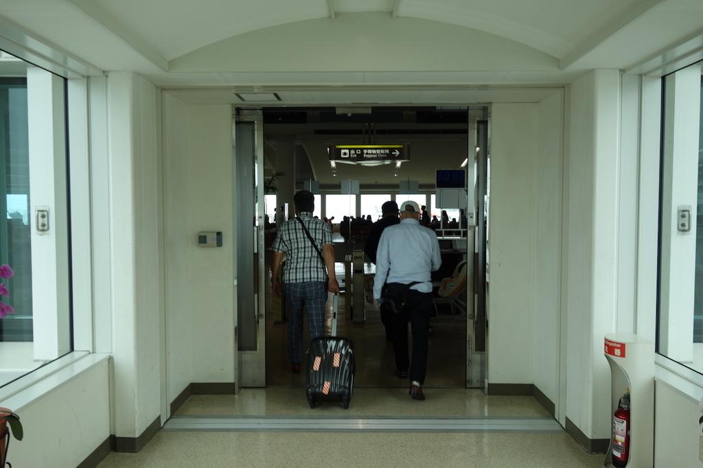 那覇空港の制限区域内(平成30年6月11日)