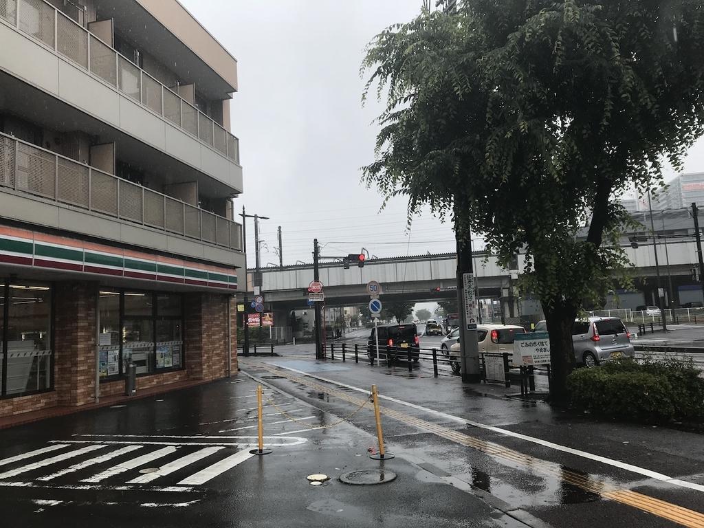朝方のお店周辺(平成30年6月11日)