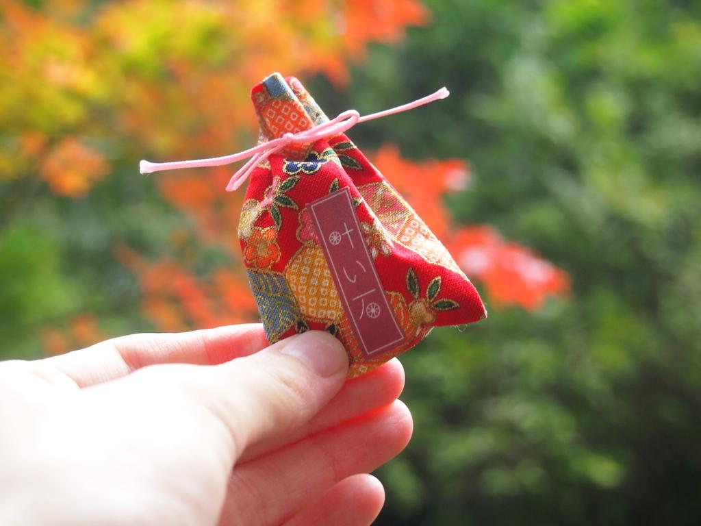 玉作湯神社の叶い石