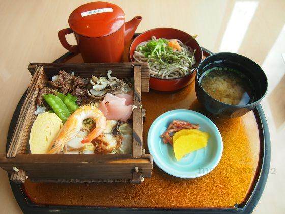 いずもまがたまの里伝承館の松江蒸し寿司