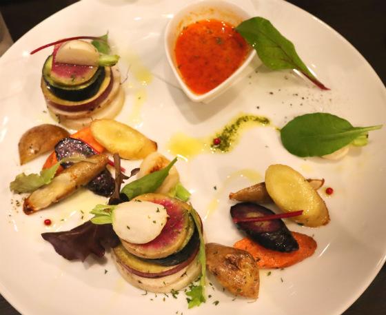 イタリアンマシロの東北野菜のグリル