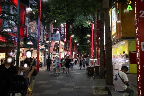 台湾の西門町