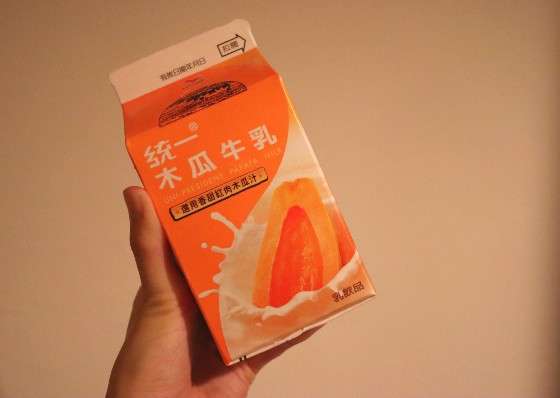 台湾の牛乳