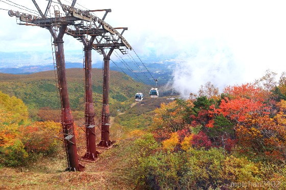 安達太良山の紅葉
