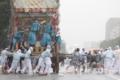 京都新聞写真コンテスト 雨の中