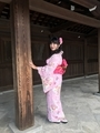 Trying different pose with this beautiful kimono