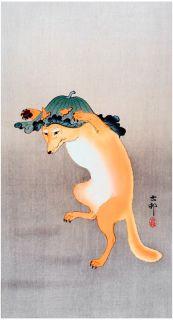 OHARA Koson-A Dancing Fox