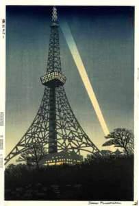 笠松紫浪-東京タワー
