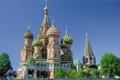 モスクワ ワシリー寺院