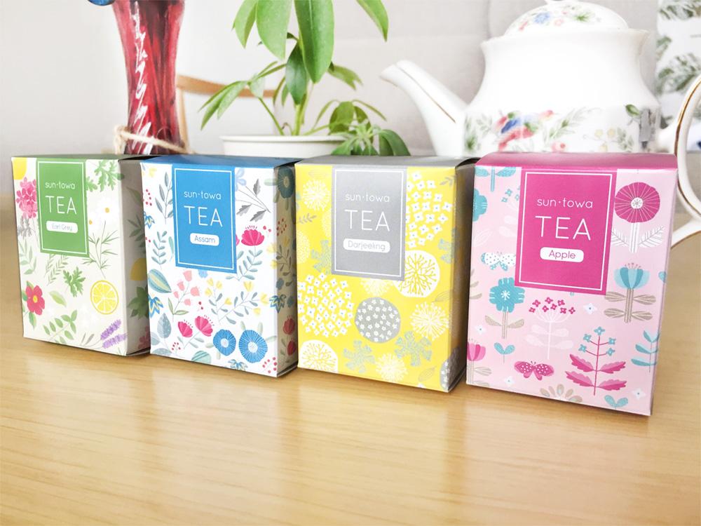 紅茶パッケージデザイン