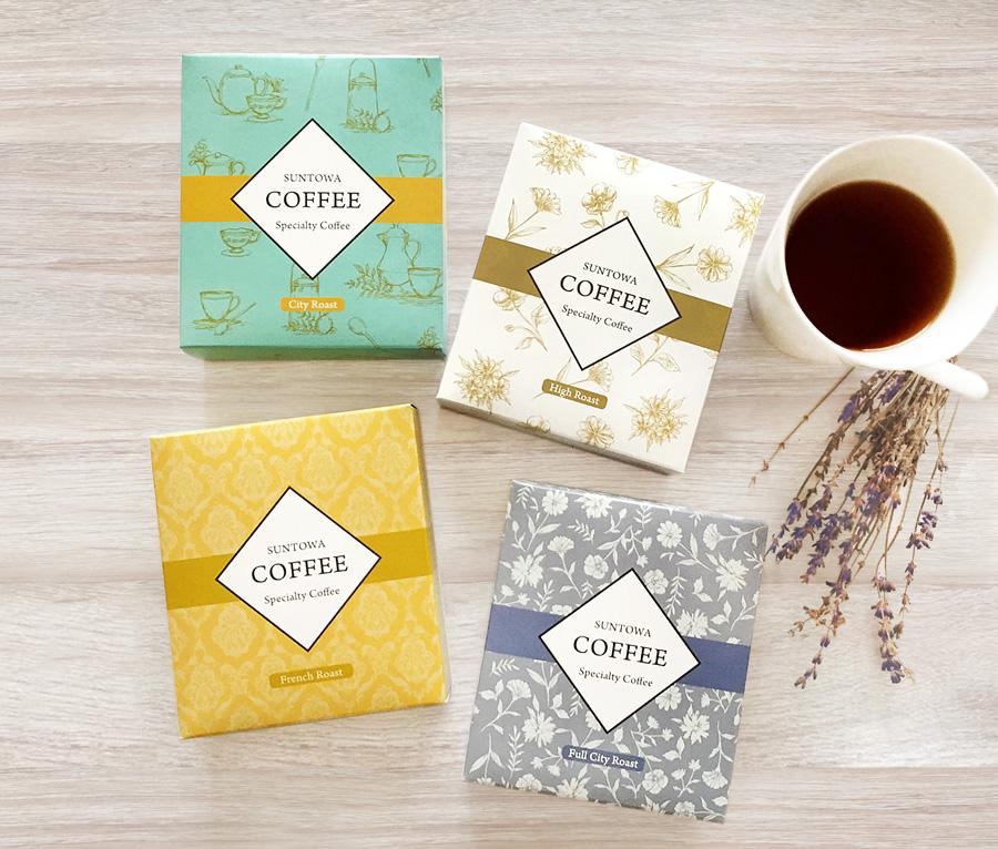 コーヒーパッケージデザイン