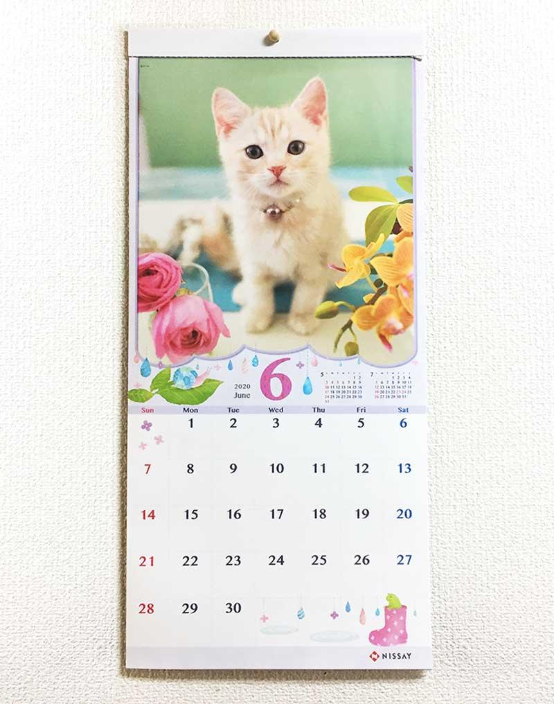 日本生命カレンダー2020