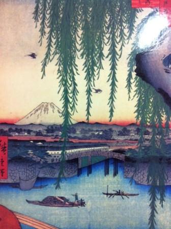 Traditional EDO UkiyoE Paint. @Tokyo Stn.