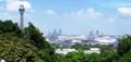 マリンタワーと大桟橋