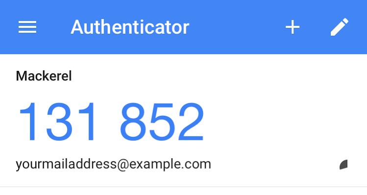 Using 2-step authentication - Mackerel Docs