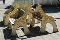 [travel] 旭山動物園・きりんのベンチ