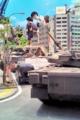 [misc] 現代美術館 特撮博物館のミニチュア 戦車のある風景