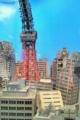 [misc] 現代美術館 特撮博物館のミニチュア 破壊された東京タワー