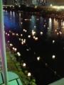 [misc] 旧中川灯籠流し