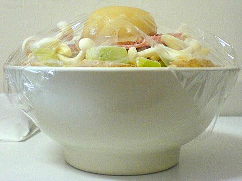 「ON野菜レンジ」で野菜たっぷり丼
