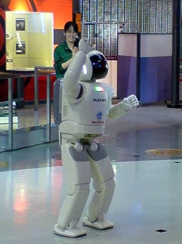日本科学未来館でASIMO その3