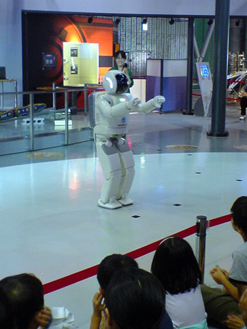 日本科学未来館でASIMO その2