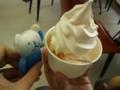 [火ぐまのパッチョ][うまいもの]ソフトクリーム…ゴクリ