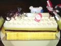 [うまいもの]エコールクリオロのクリスマスケーキ