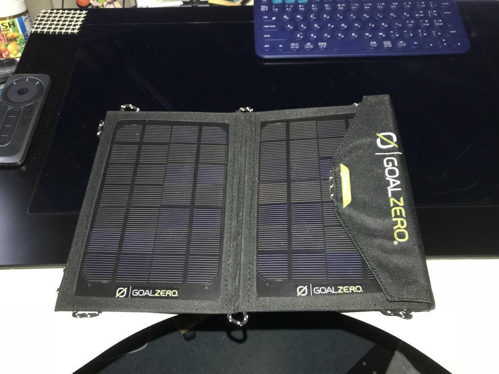 Goal Zero 高出力ポータブルソーラー Nomad 7 Solar Panel