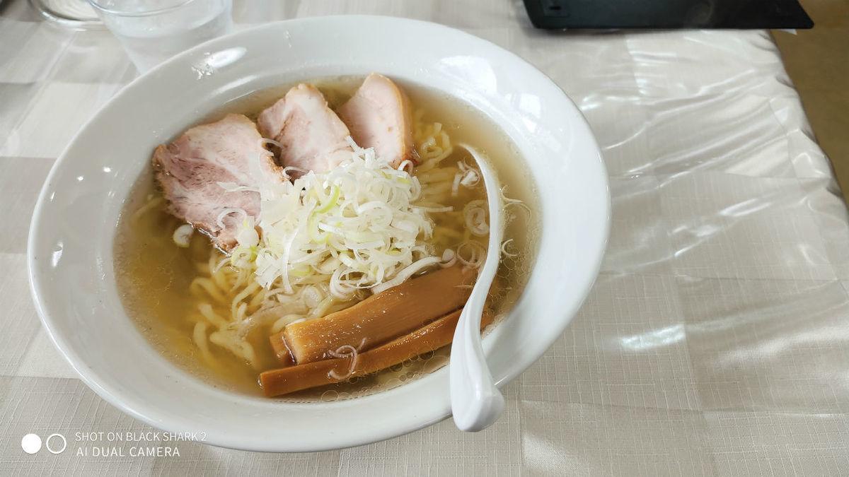 山塩ラーメン 麺や 太一 会津 ラーメン